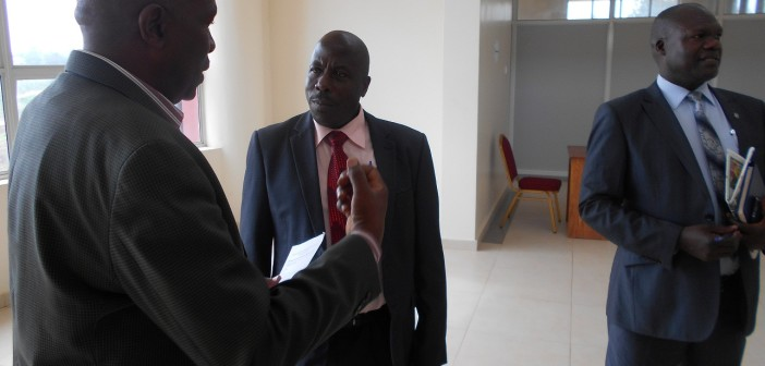 USJM VC welcomes Mr. Wavamuno, HM St. Kaggwa Bushenyi High School (CM HeadTeacher AoM SS