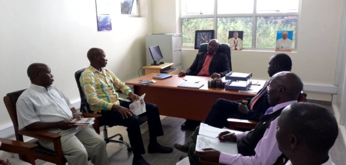 USJM hosts Mbarara DLG Chairperson and CAO Mbarara_08 May 2018