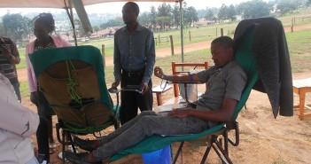 Community Service: USJM Community donates blood_12/9/2019